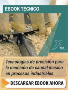 Tecnologías industriales para medición de flujos de masa