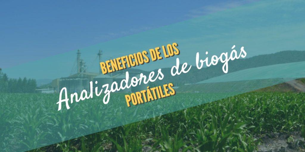 Analizadores de biogás portátiles